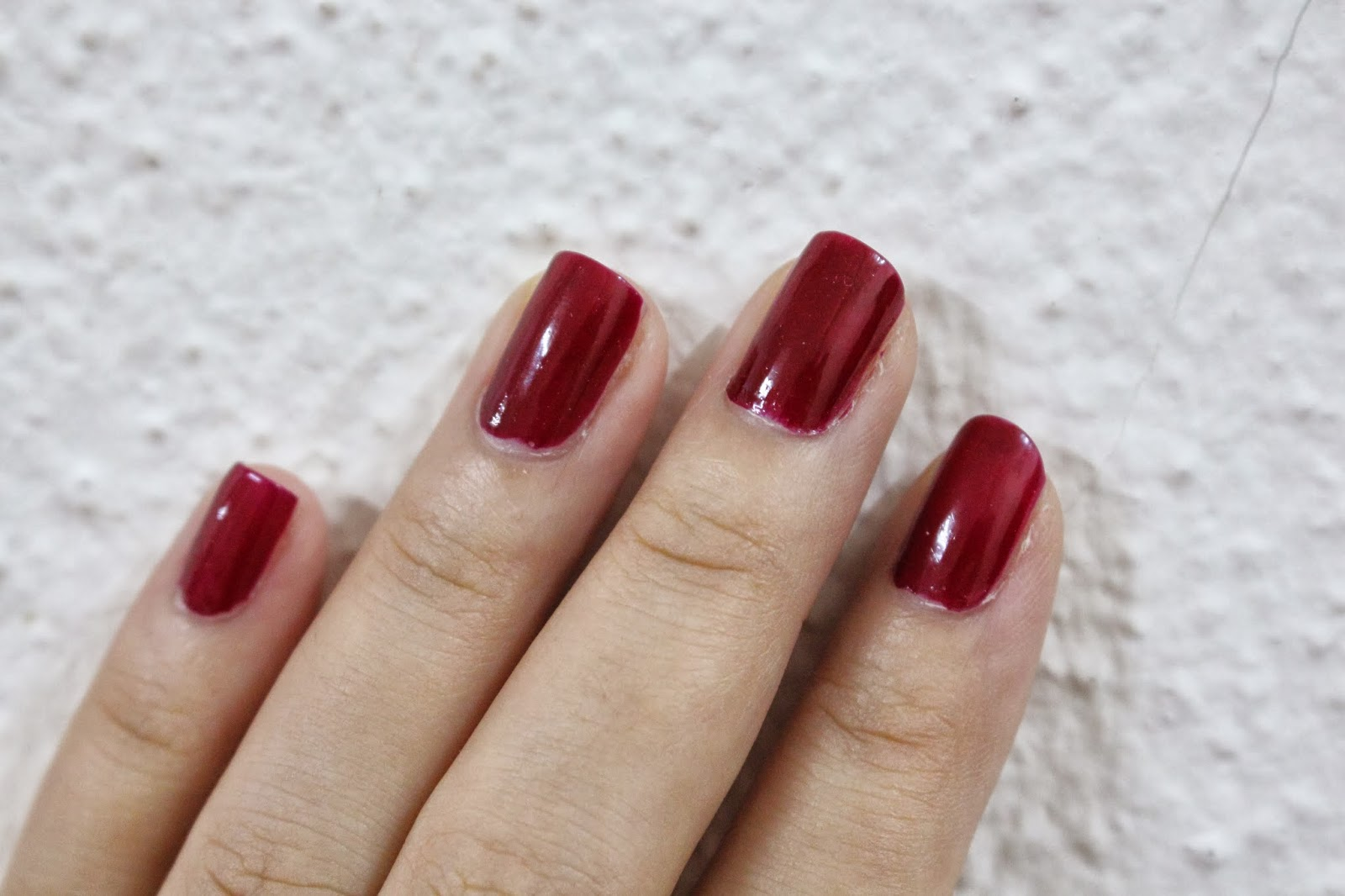 Maroon / Blood Red Nails