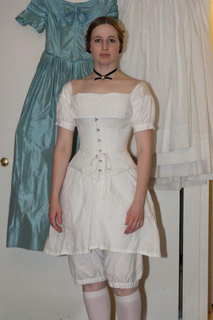 mid-19th century corset