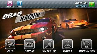 Drag Racing v1.1.17 APK: game 2D đua xe vui nhộn (hack không cần root)
