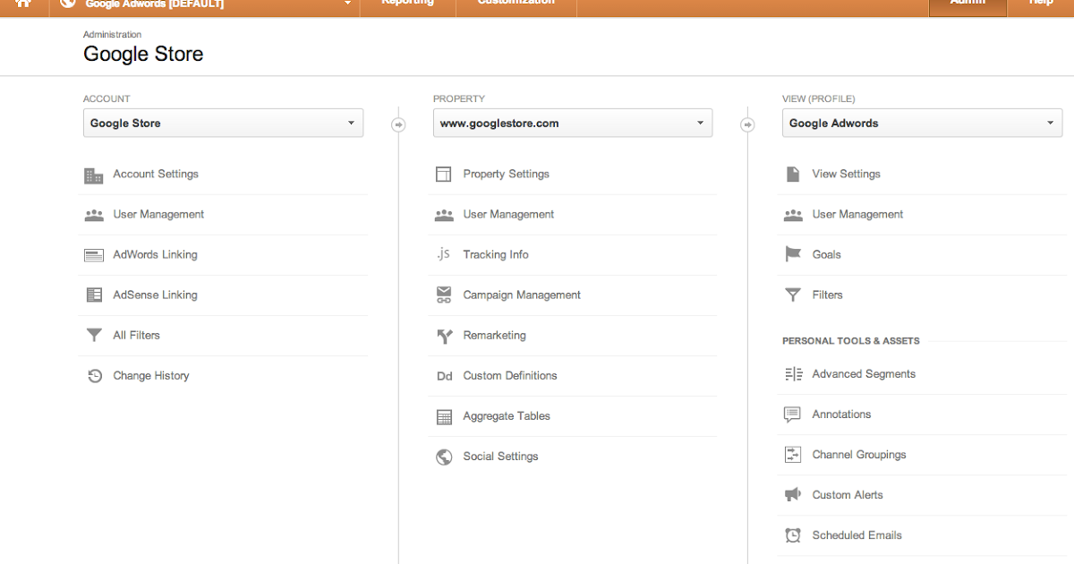 Streamlining Google Analytics Administration Experience