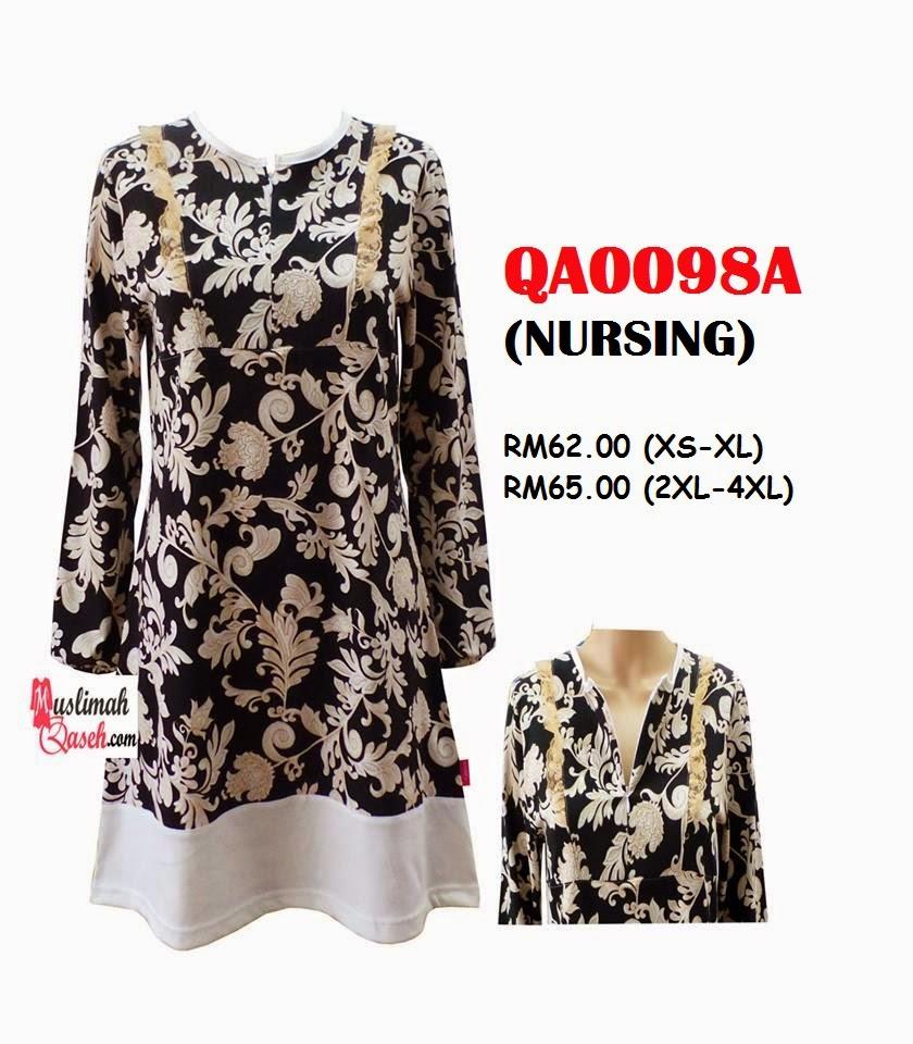 T-Shirt-Muslimah-Qaseh-QA0098A