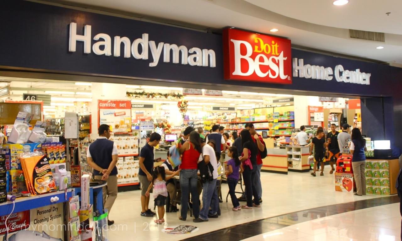 My Mom Friday Handyman Family Day At Robinsons Place Manila