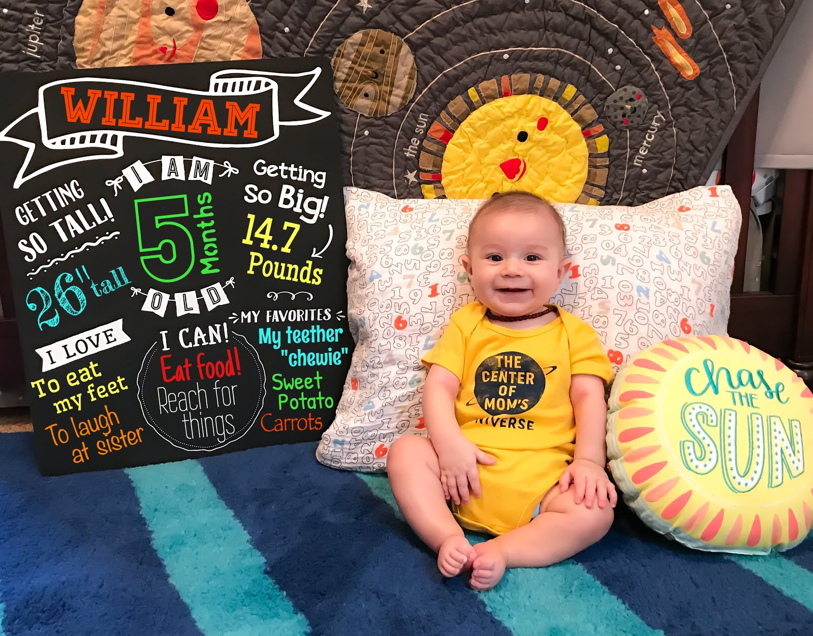 5 Months of William