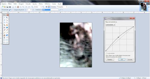 Programa utilizado para tratamento da imagem