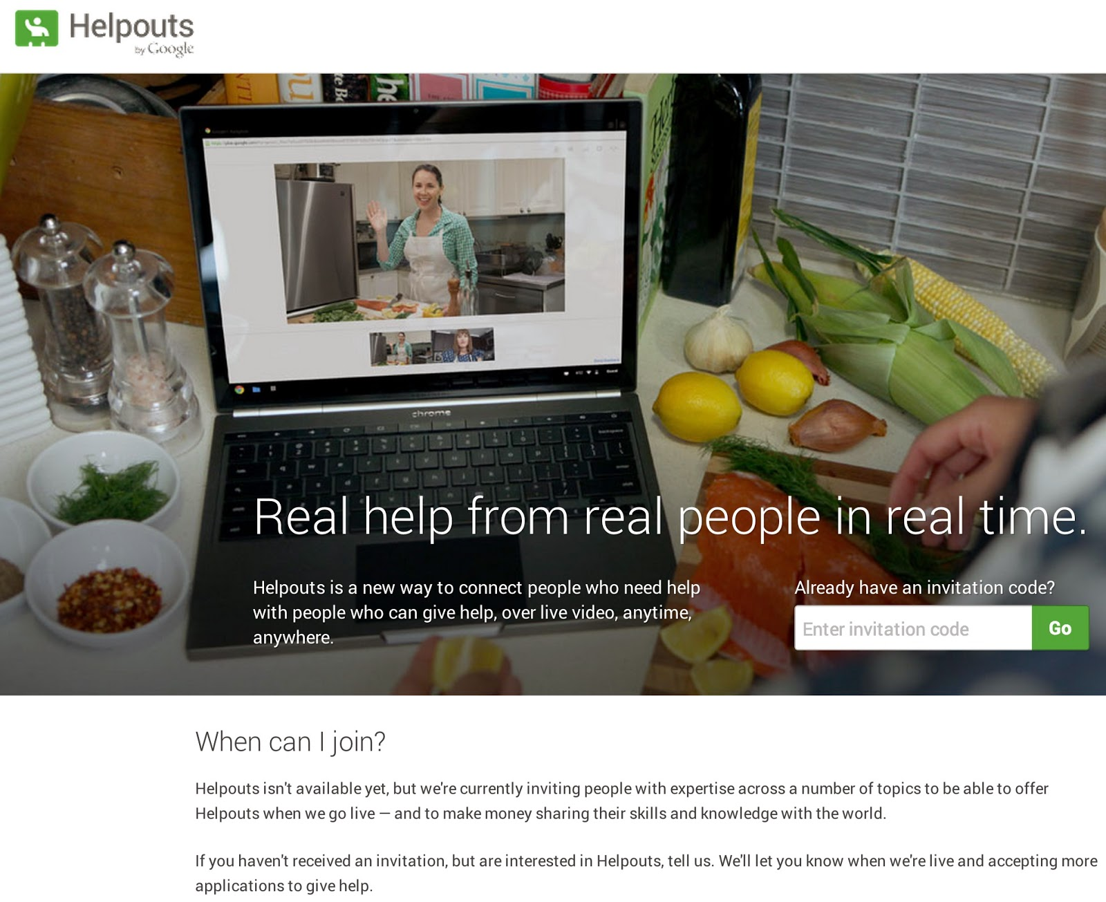 Helpouts community, Google collaboration service