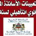 لائحة تعيينات الأساتذة المبرزين للتعليم الثانوي النأهيلي لسنة 2014