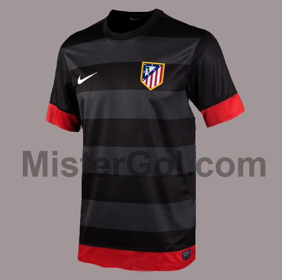 Uniforme Atletico De Madrid 2012 2013 Visitante Nike Away Kit 2012