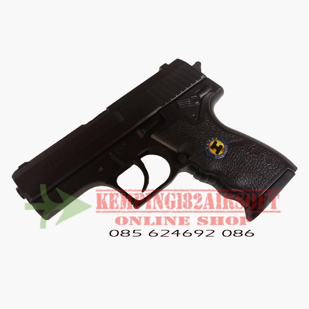 airsoft, spring, mini, mk23, pistol, handgun, murah, cheap