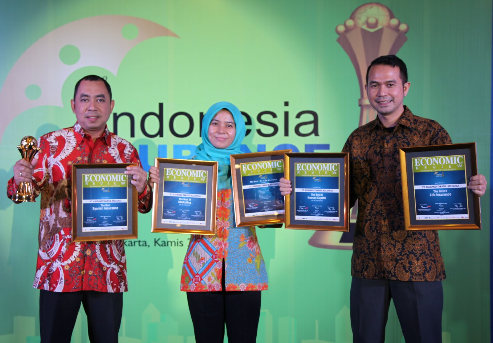 4 Award the best TAKAFUL