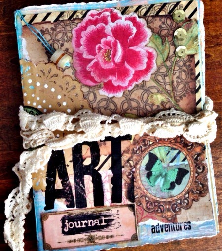 Art Journal Adventures by Kimberly Jones
