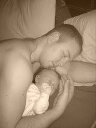 Old baby Elijah and my beautiful husband!