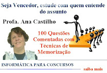 Curso de Informática com a Prof.ª Ana Castilho