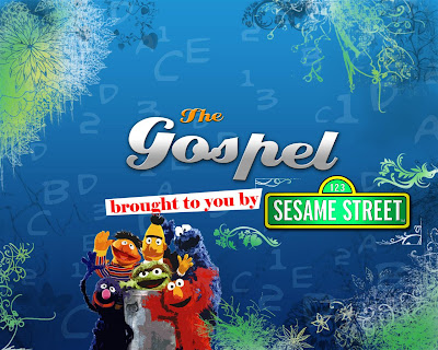 Free Sesame Street PowerPoint Backgrounds 2