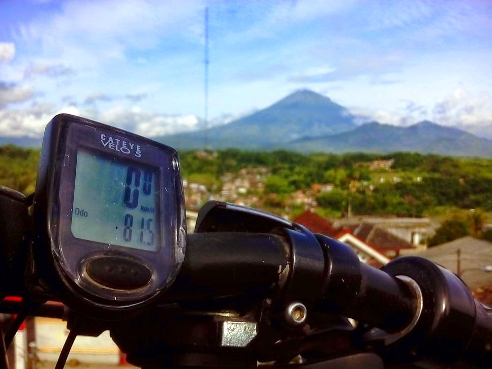 Jarak Tempuh 1 bulan, 81,5km