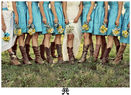 If you are planning a YEEHAWWW kind of wedding Cowboy boots are a must have