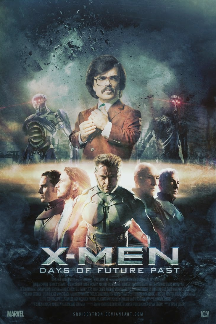 men  days of future past   poster by squiddytron-d7d8mnx pngX Men Days Of Future Past Poster
