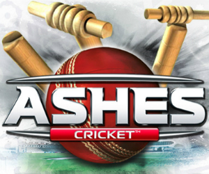 Ashes cricket poster