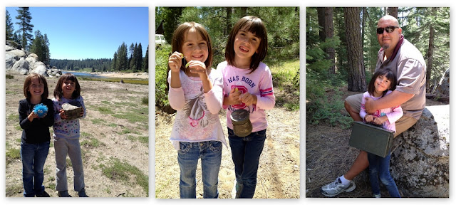 Geocaching in Shaver Lake, CA