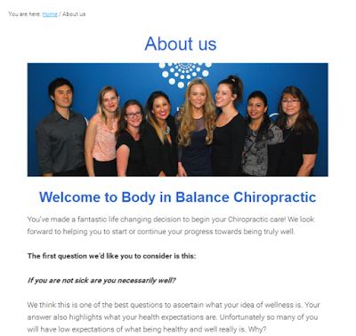 trusted chiropractic & natural therapy centre