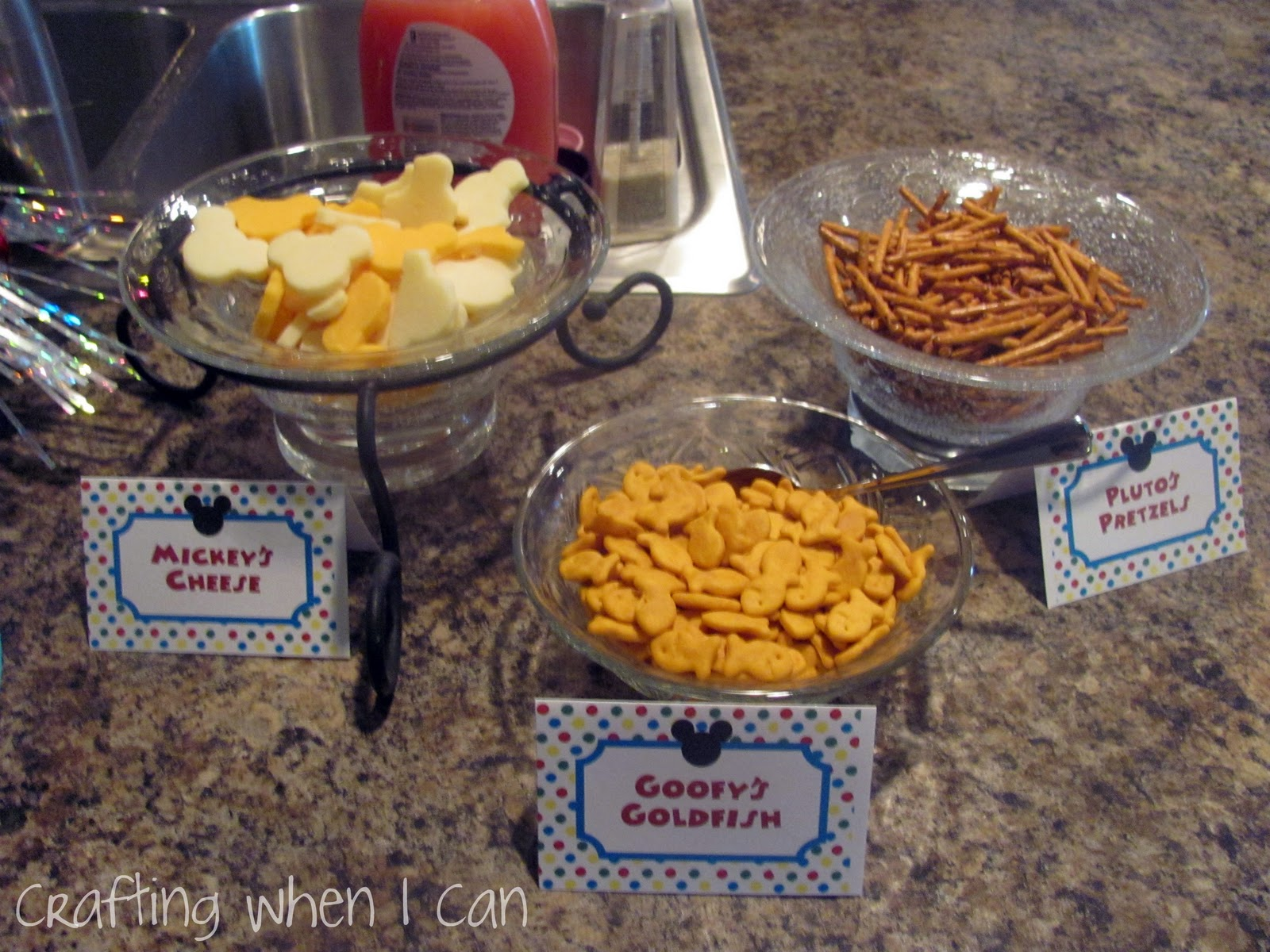 Mickey Mouse Clubhouse Birthday Party Food Ideas