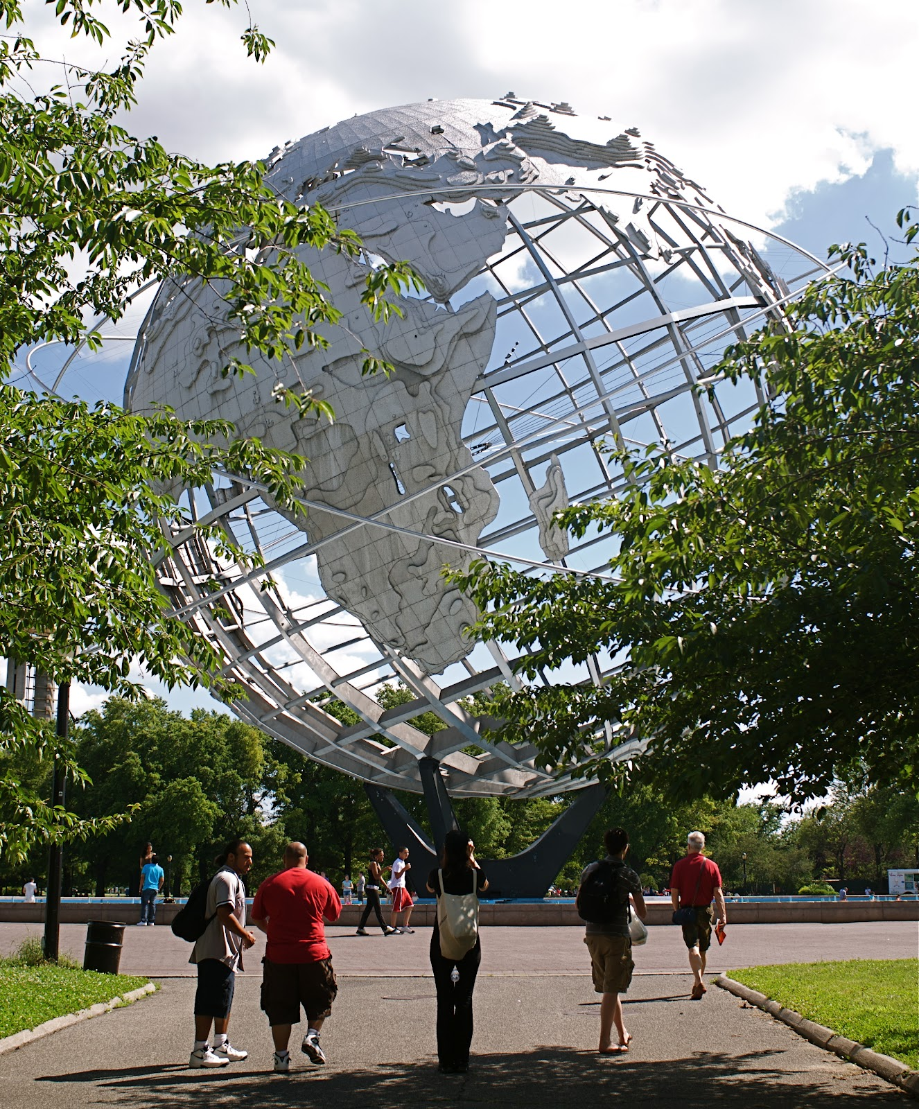 Park Meadows Vision Home: NYC ♥ NYC: The Unisphere Of Flushing Meadows