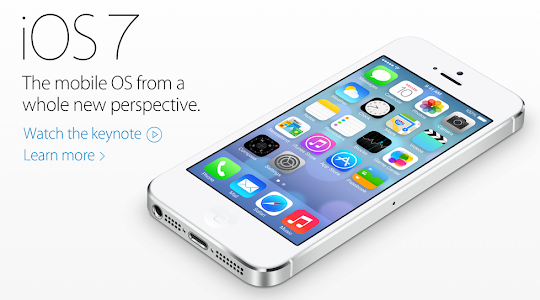 Apple iOS 7 on iPhone 5