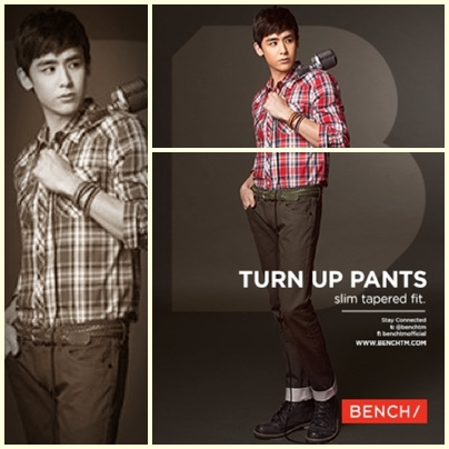 Nichkhun of 2PM for Bench Back to School Denim Campaign 2013