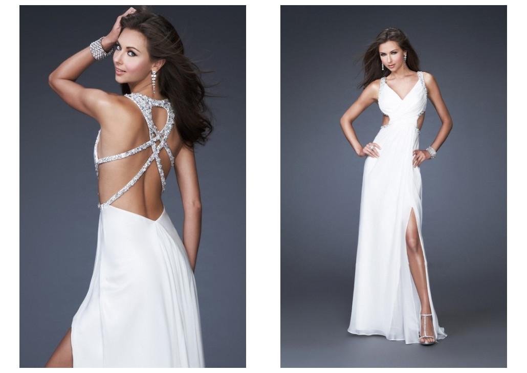 High Neck Prom Dresses 2012