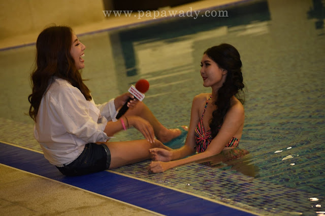 Myanmar Zun Than Sin - LBMA Day 1 Swimsuit Live TV Broadcasting Q Photos