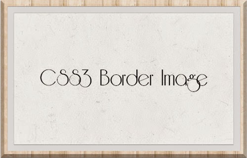 CSS3 border-image property