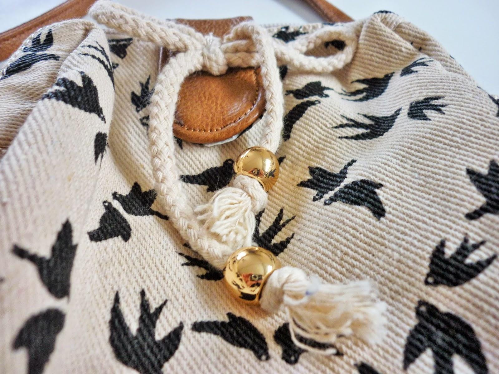 Shopping accessoire sac pochette oiseaux SIXT