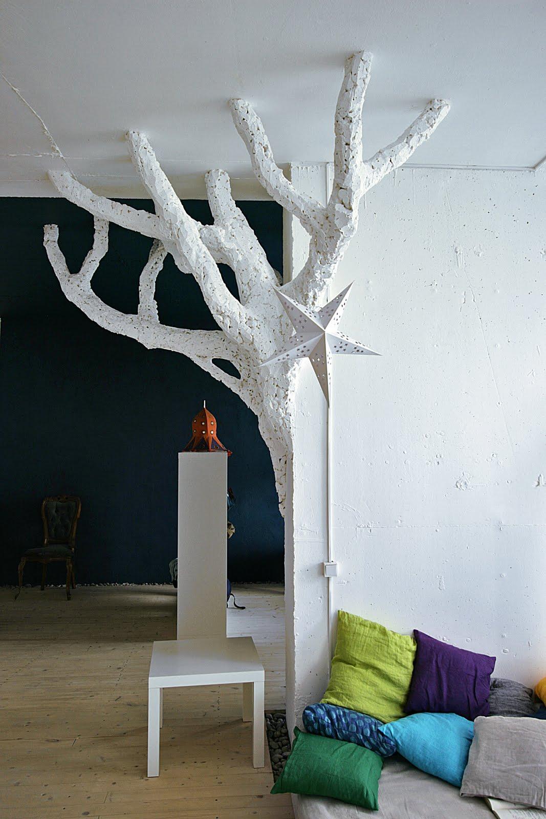 Напольное дерево своими руками фото