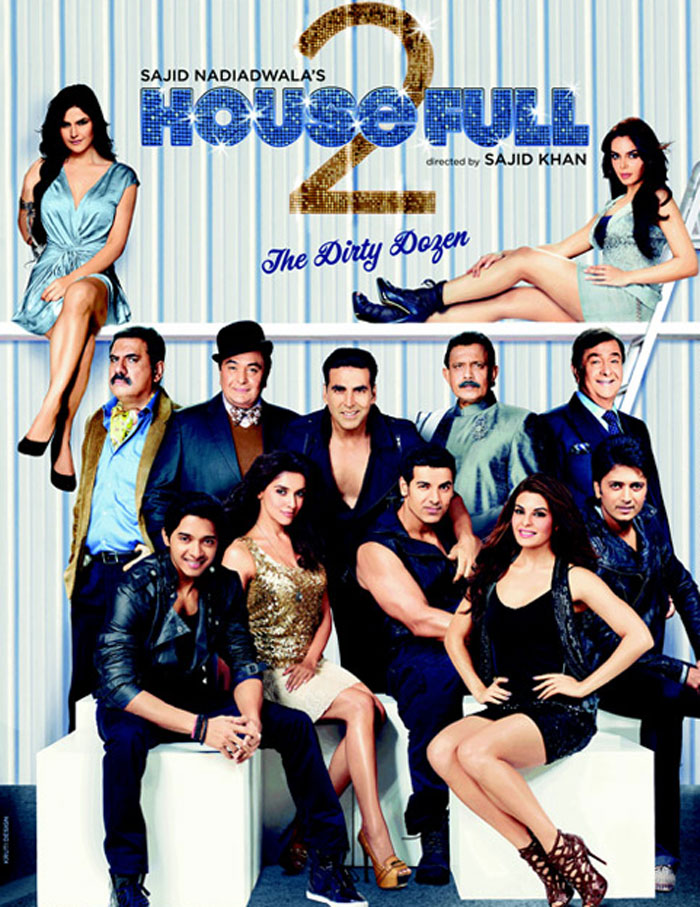 1 - Housefull 2 Movie Poster