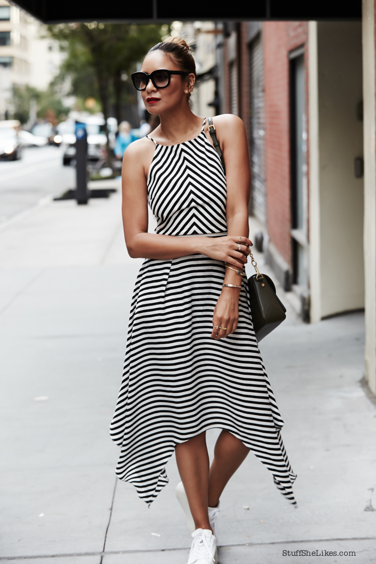 Stripe dress, New york fashion week, The best of new York Fashion week, How to dress for New york, blogger, best blogger, top fashion blogger, los angeles fashion blogger