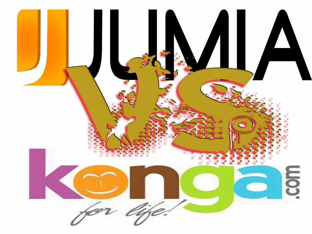 Online retailers Konga and Jumia at war!