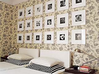 modelo de papel de parede para quartos