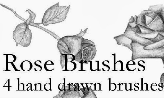 Hand Drawn Brushes for Photoshop