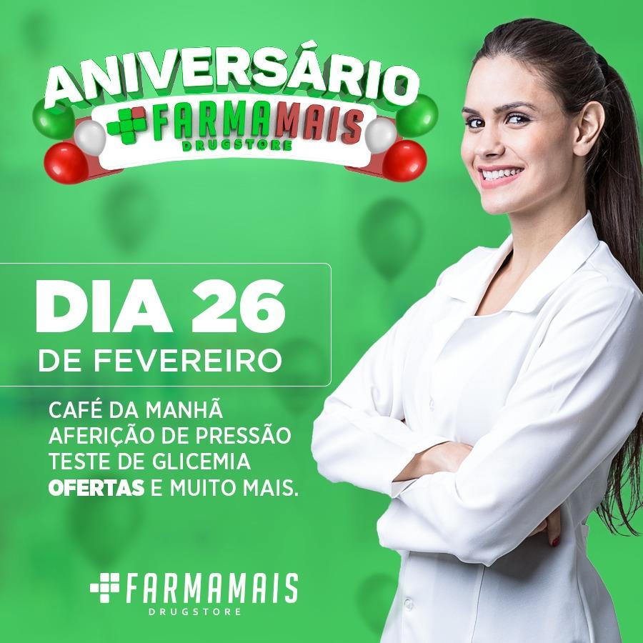ANIVERSÁRIO FARMA MAIS