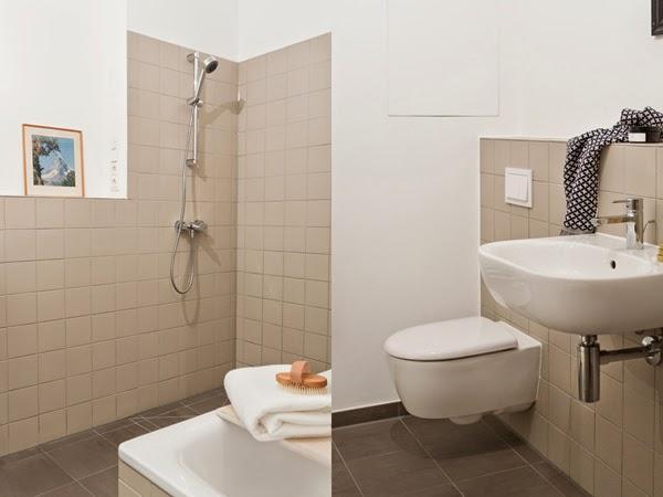 decorar pocos muebles baño
