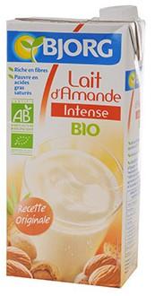 lait amande bjorg