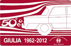 Celebrazioni per i 50 anni/years/anos della Giulia - 50 anos - 1962 - 2012