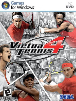 Virtua Tennis 4 PC Cover
