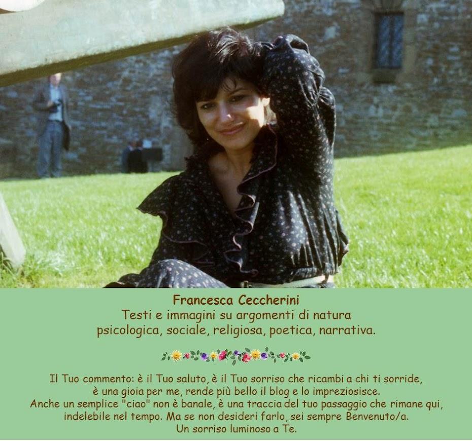 Francesca Ceccherini: testi e immagini di psicologia, sociale, religione, poesia, narrativa
