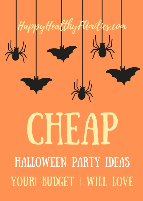 Throwing a Halloween Party When You Are Broke