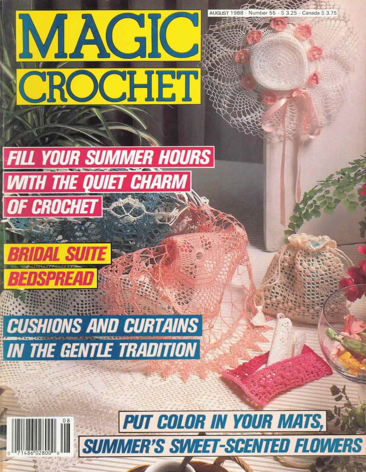 Magic Crochet : Magic Crochet No. 55 ~ Free Crochet Patterns