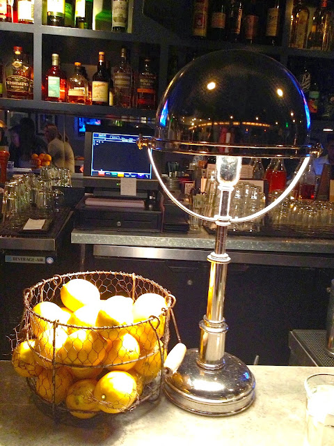 Lemons at the bar at the Hungry Cat in Santa Monica, CA