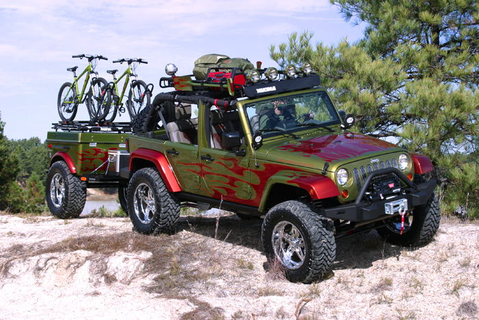 4x4 Off Road Trailers