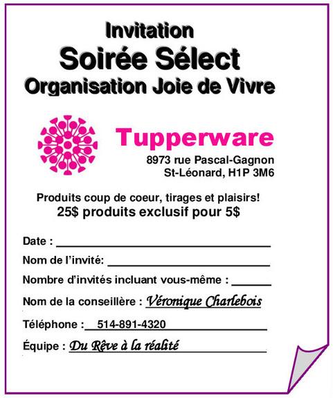 Tupperware Party Invitations – Tupperware Party Invitation