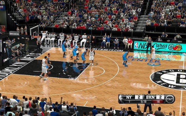 Nets HD Court | NBA 2K14 PC Mod