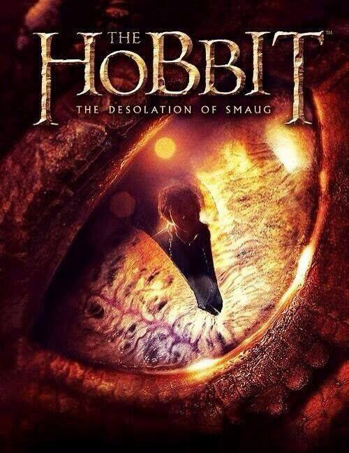 The Hobbit: The Desolation of Smaug Teaser Poster